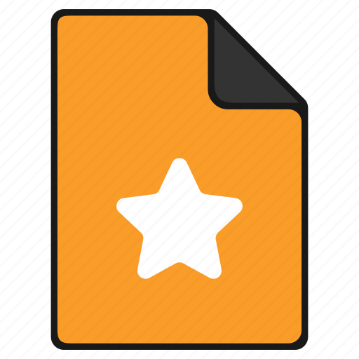 award, bookmark, documents, favorite, file icon