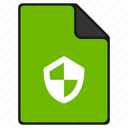 documents, file, insurance, protection, safe, safety, secure icon