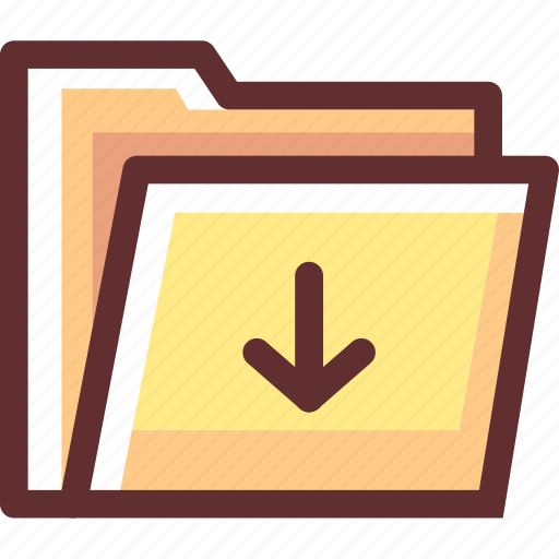 category, data, document, download, file, folder icon
