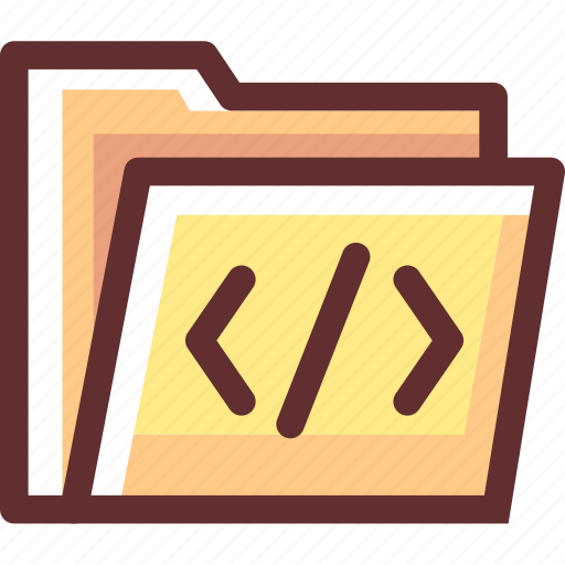 Development, website, folder, program, programming icon