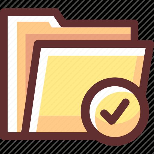 Correct, data, document, file, folder icon - Download on Iconfinder