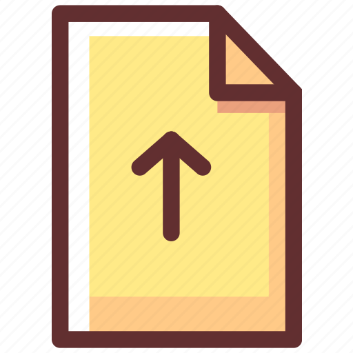 Files, extension, upload, paper, file, document, data icon