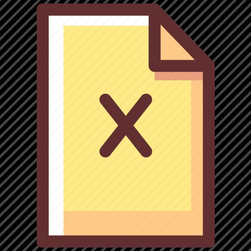 delete, file, files, remove, trash, wrong icon