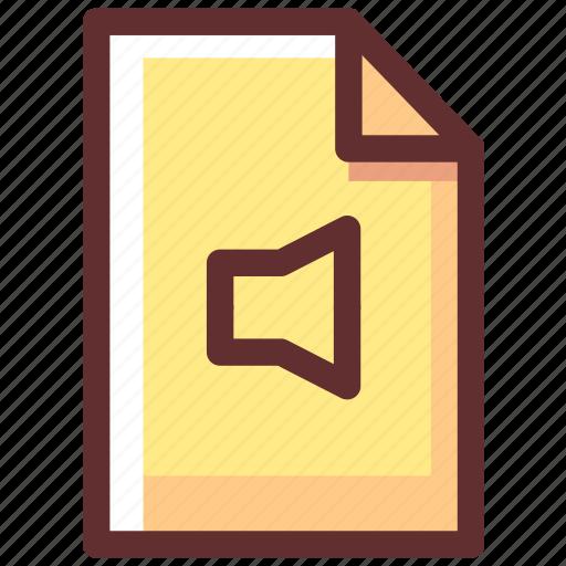 Sound, media, audio, music, multimedia icon