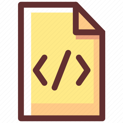 code, coding, document, file, programming icon