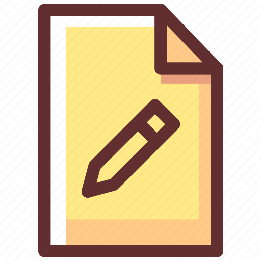 Draw, edit, pen, pencil, tool, work, write icon - Download on Iconfinder