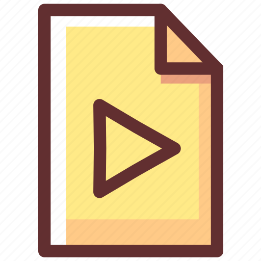 game, movie, play, player, video icon