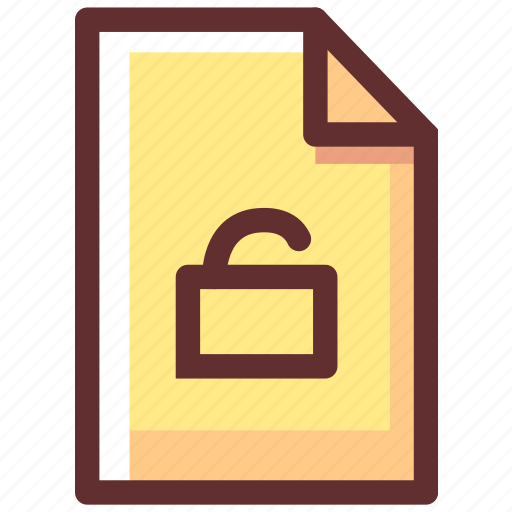 file, key, locked, login, safety, security icon