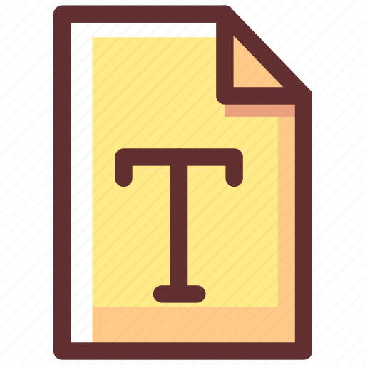 data, document, file, paper, text icon