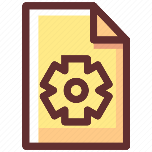 control, file, options, settings icon