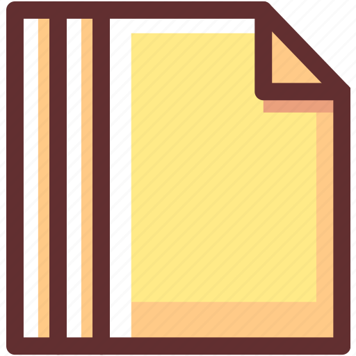 data, documents, file, files, paper, type icon
