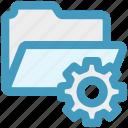folder, gear, option, preferences, setting, setup