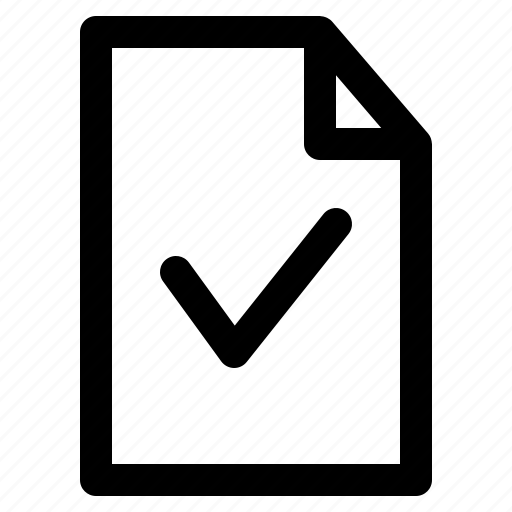 check, confirm, document, file, files, folder icon