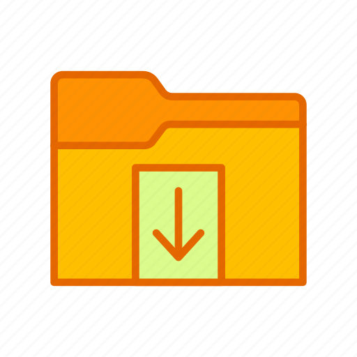 Document, download, file, folder icon - Download on Iconfinder