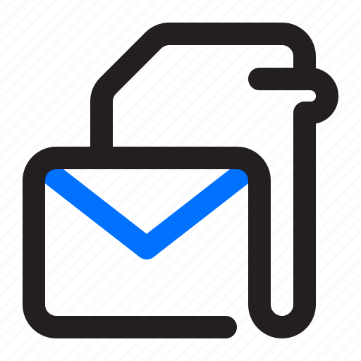 File, document, mail, message, envelope icon - Download on Iconfinder