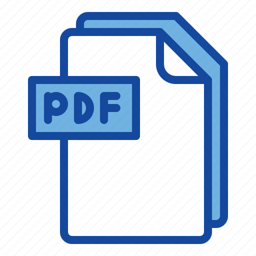 File, pdf, document, format, extension icon - Download on Iconfinder