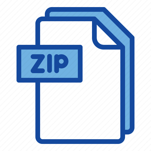 File, zip, document, format, extension icon - Download on Iconfinder
