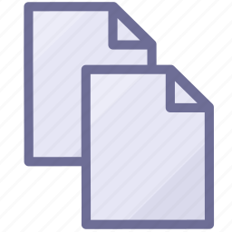 copy, documents, files, papers icon