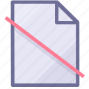 document, file, paper icon