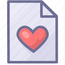 document, file favorites, paper icon