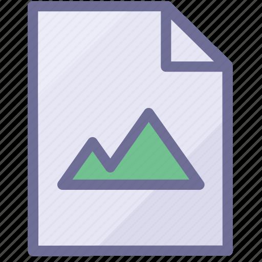 file, image document, image file icon
