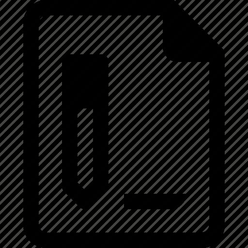 achive, document, file, paper, write icon