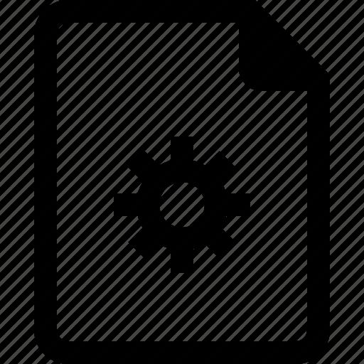 achive, document, file, paper, process icon