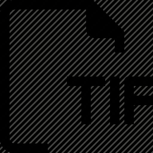 achive, document, file, format, paper, tif icon