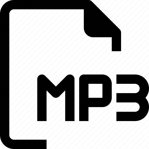 achive, document, file, format, mp3, paper icon