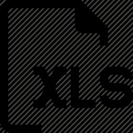 achive, document, file, format, paper, xls icon