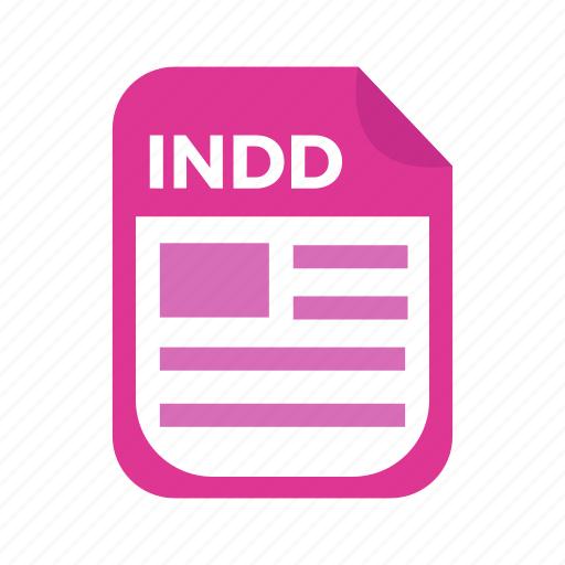adobe, document, file, indesign, type icon