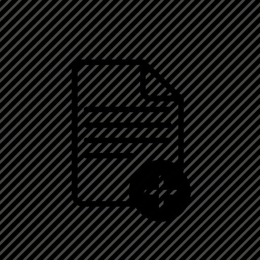 add, file, file extension, folder, sheet icon
