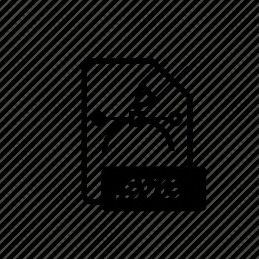 extension, file extension, folder, svg, svg file icon
