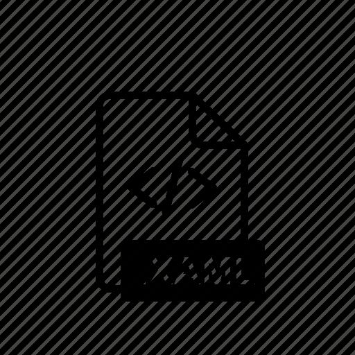 data, file, file extension, folder, open, storage, xaml icon