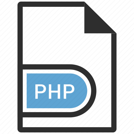 code, document, php icon