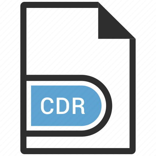 cdr, file format, vector format icon
