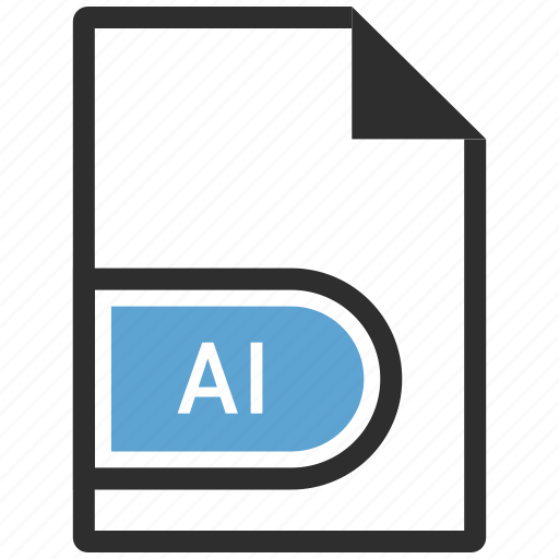 adobe, ai file, filetypes, illustrator icon