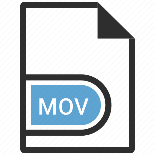 file, mov, video icon