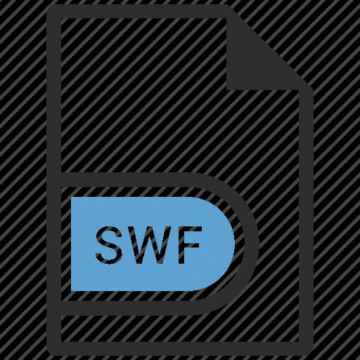 document, swf icon