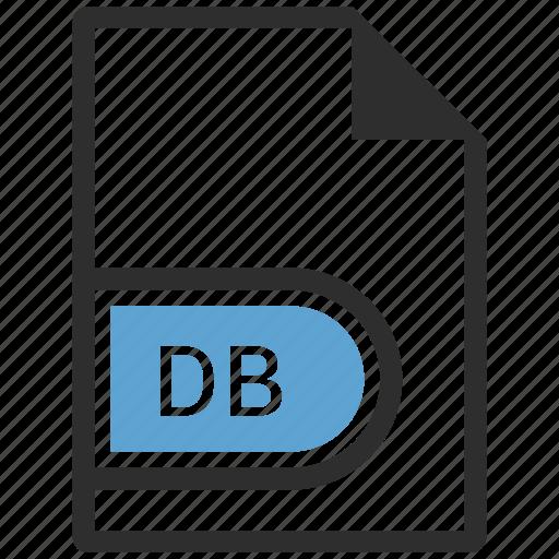 db, doc, document, file icon