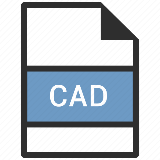 cad, extension, file icon
