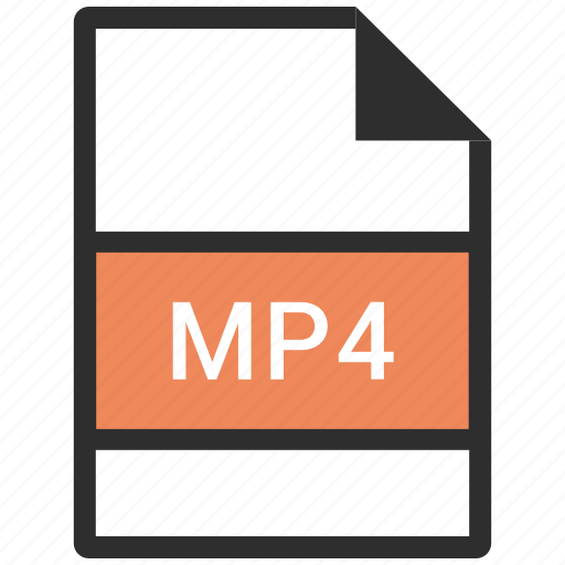 movie, mp4, video icon