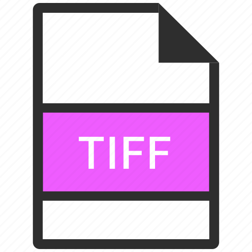 document, file, filetype, tiff icon