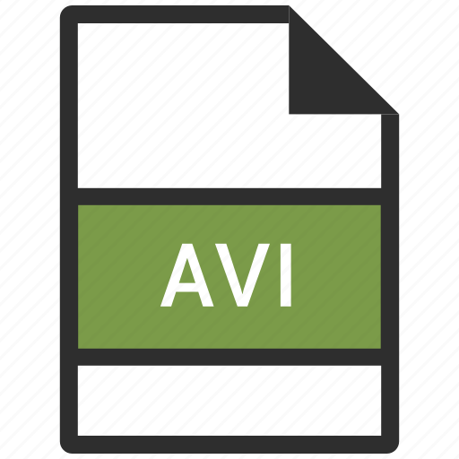 avi, file format, video icon