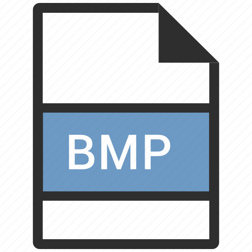 bmp, file, format, image icon