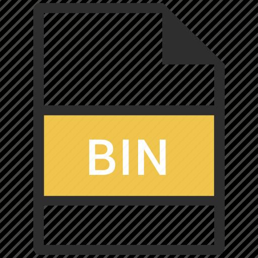 bin, file, format icon