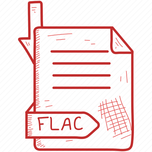 Document, file, flac, format icon - Download on Iconfinder