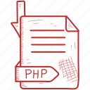 document, file, format, php