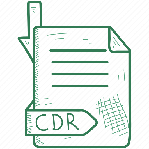Cdr, document, file, format icon - Download on Iconfinder