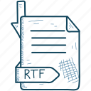 extention, file, format, rtf